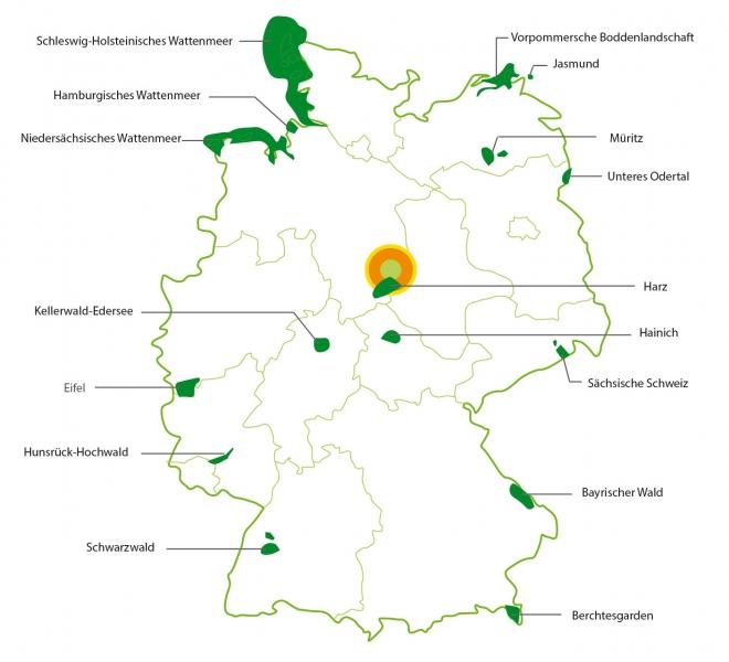 Was Ist Ein Nationalpark Der Nationalpark Nationalpark Harz