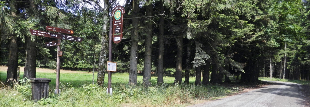 Nationalpark-Haltestelle Hohnehof